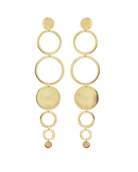 Lana Jewelry Linear 9-Disc Drop Earrings X0erwHM