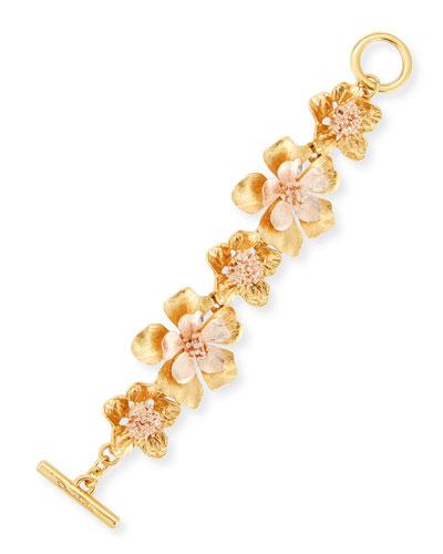 Bold Flower Bracelet