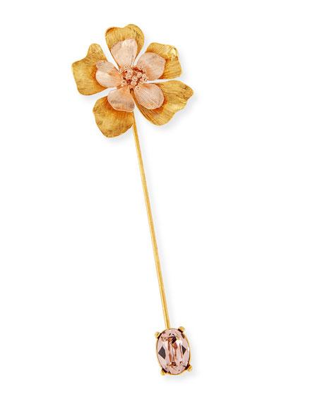 Oscar de la Renta Bold Flower Pin