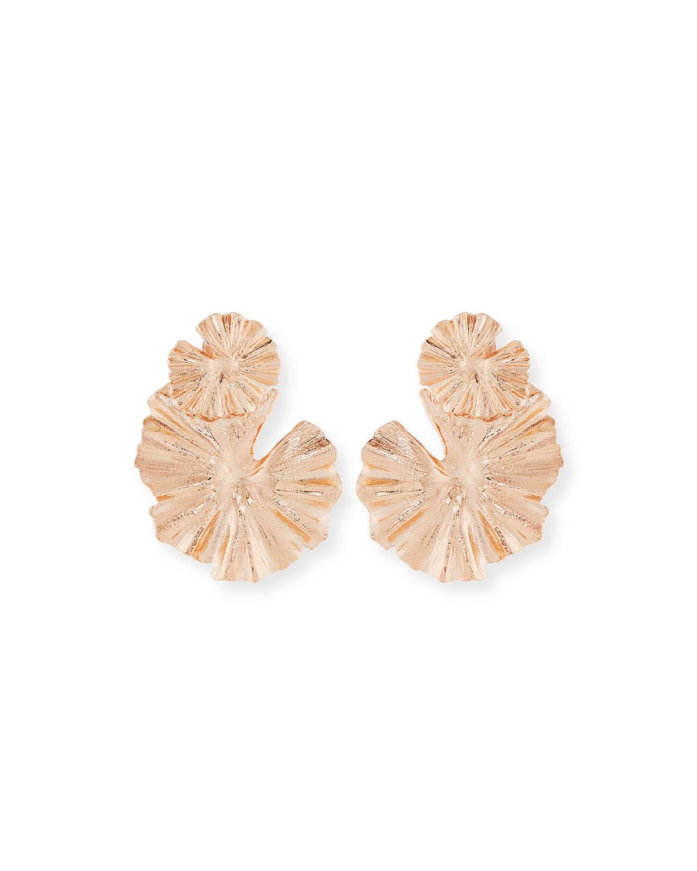 Oscar De La Renta Small Scarab Clip-On Earrings RVMKSYjv