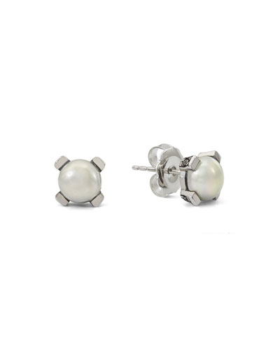 Pearly Stud Earrings