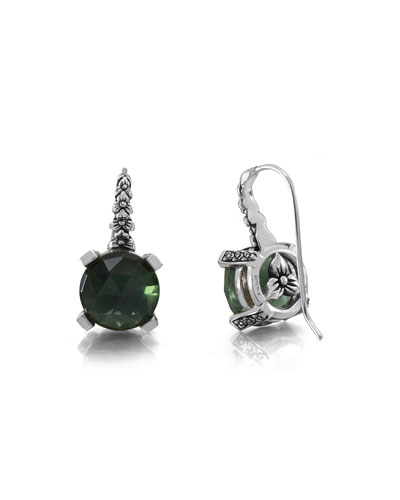 Green Amethyst Hydro Drop Earrings