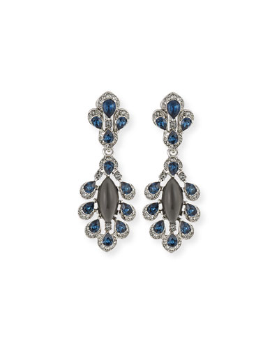 Parlor Crystal Drop Earrings