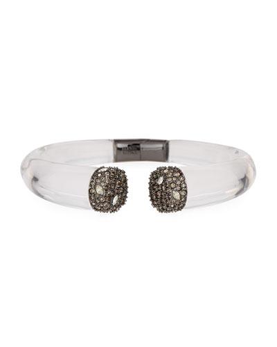 Encrusted Pavé Crystal Cuff Bracelet