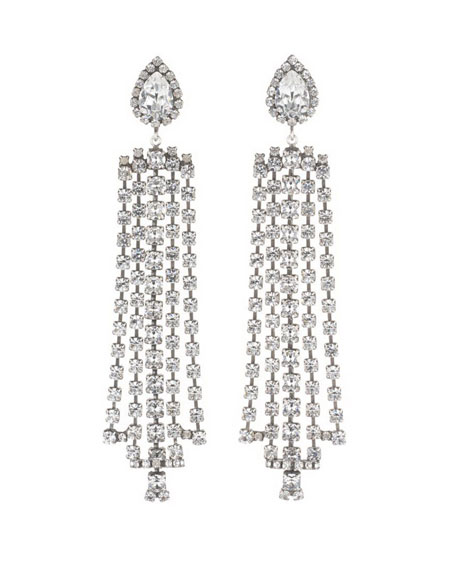 Sade Crystal Statement Earrings