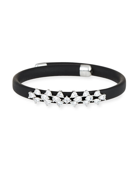 Fallon Monarch Leather Snap Bracelet DUFIb0