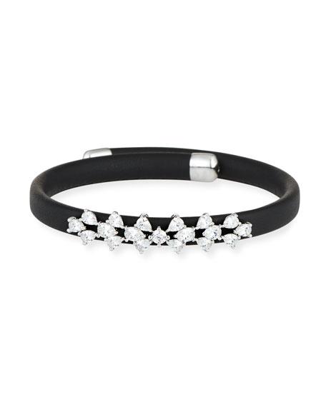 Monarch Leather Snap Bracelet