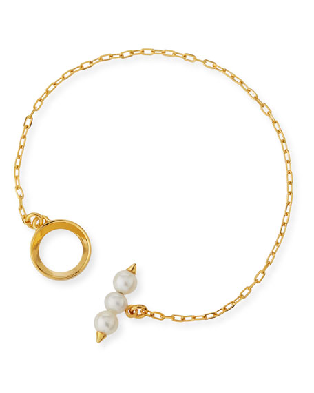 Emi Pearl Toggle Bracelet