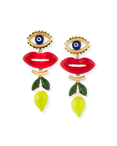 Crazy Charms Drop Earrings