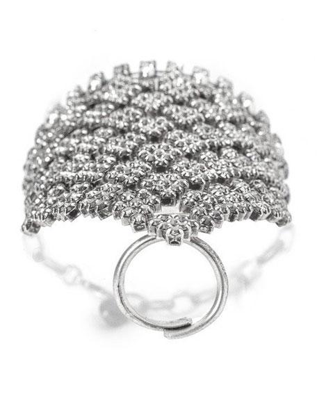 Arrow Statement Hand Bracelet