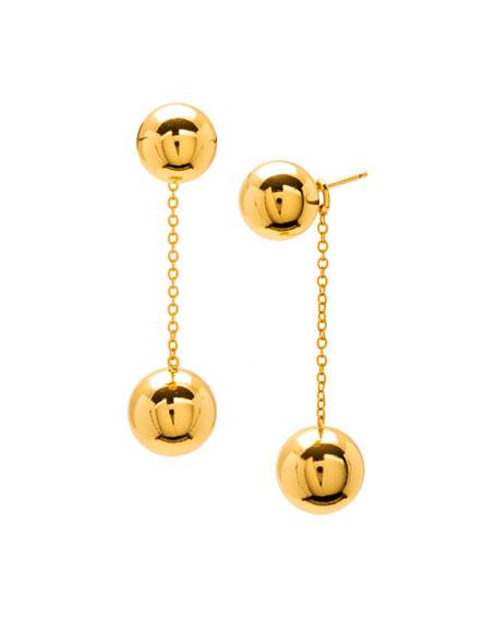 Newport Double-Drop Earrings