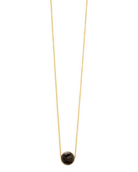 Power Gemstone Onyx Bead Necklace