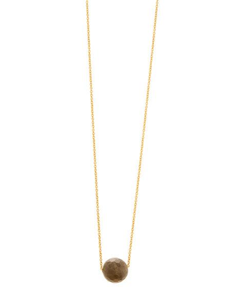 Power Gemstone Labradorite Bead Necklace