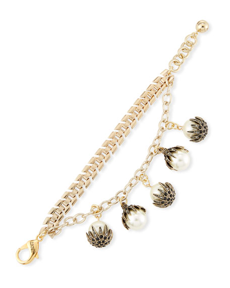 Paloma Pearly Link Bracelet