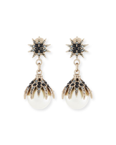 Paloma Pearly Statement Earrings
