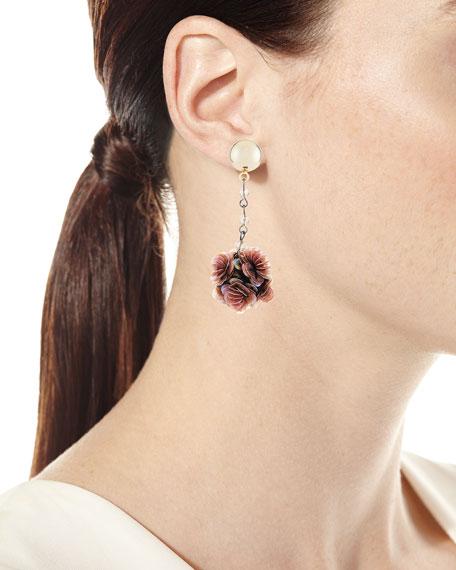 Rumba Sequined Statement Earrings