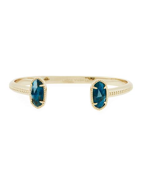 Elton Statement Bracelet, Blue