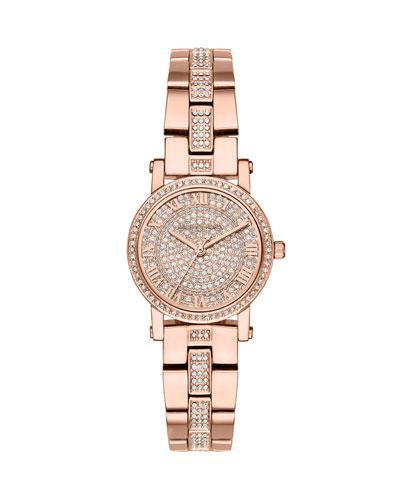 Petite Norie Rose-Golden Bracelet Watch