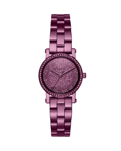 Petite Norie Purple IP Bracelet Watch