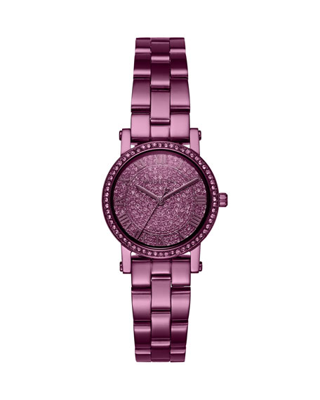Petite Norie Purple IP Bracelet Watch