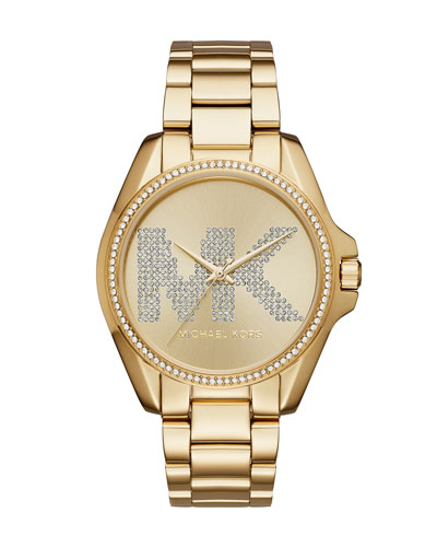 Bradshaw Yellow-Golden Logo Bracelet Watch