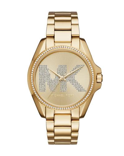 Bradshaw Yellow-Golden Logo Bracelet Watch