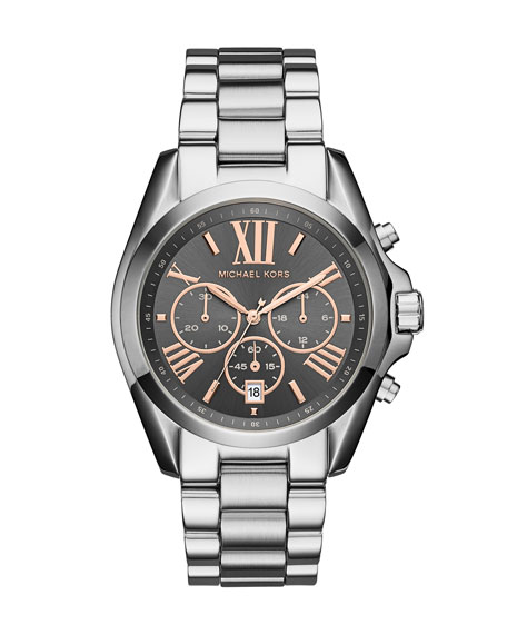 Bradshaw Stainless Steel Chronograph Bracelet Watch
