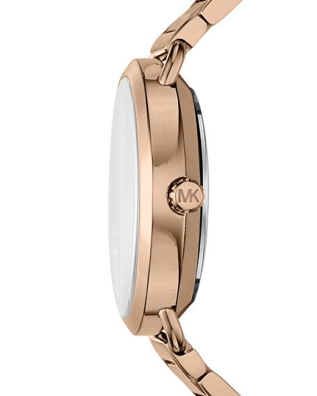 Portia Star Rose-Golden Bracelet Watch