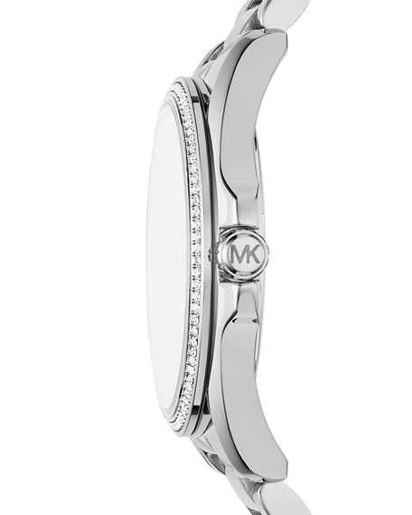 Bradshaw Stainless Steel Logo Bracelet Watch