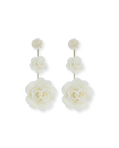 Beck Floral Statement Earrings