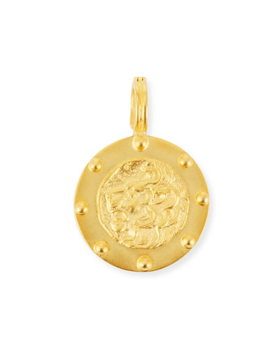 Lion Medallion Pendant