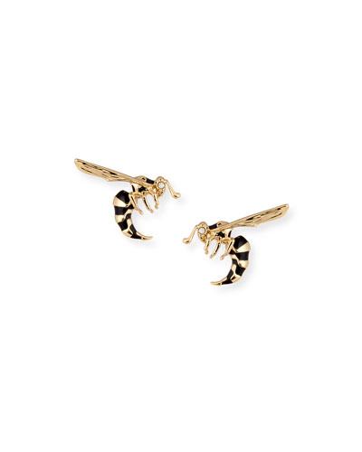 Hornet Stud Earrings