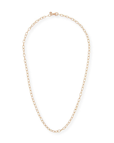 14k Circle Chain Necklace