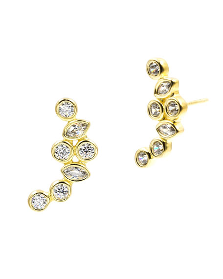 GEO RADIANCE CLIMBER EARRINGS