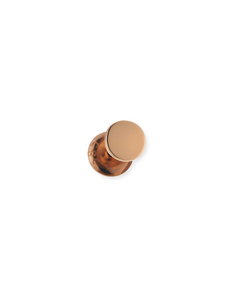 Kismet by Milka Single Disc Stud Earring in 14K Rose Gold iLsREdX1OM