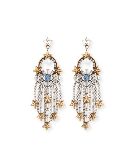 Auden Falling Star Statement Earrings