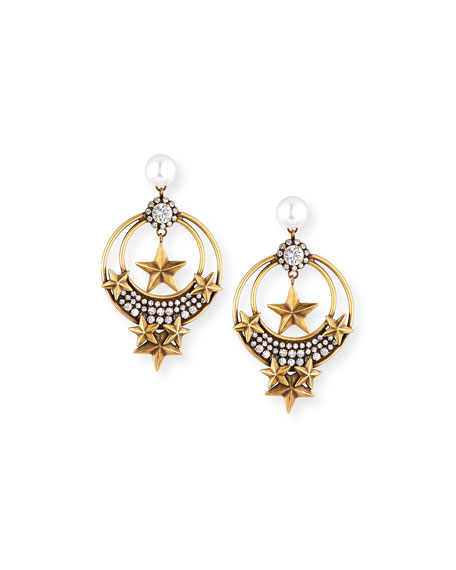 AUDEN CELESTE STATEMENT EARRINGS