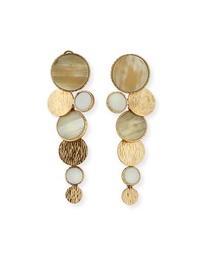 Circle Long Earrings