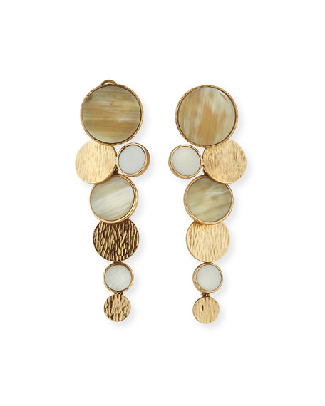 Akola Circle Long Earrings