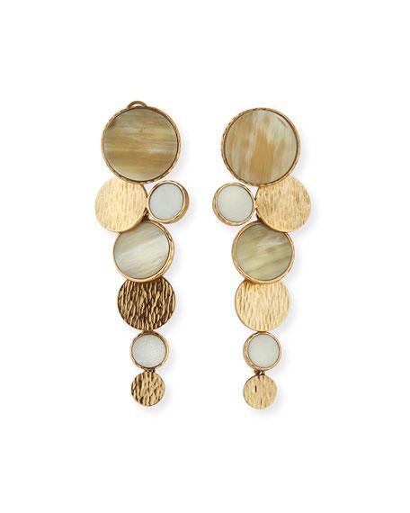 Akola Circle Long Earrings
