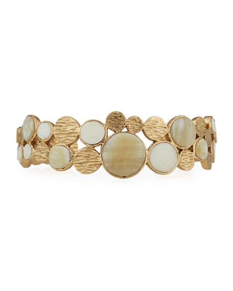 Circle Adjustable Cuff Bracelet