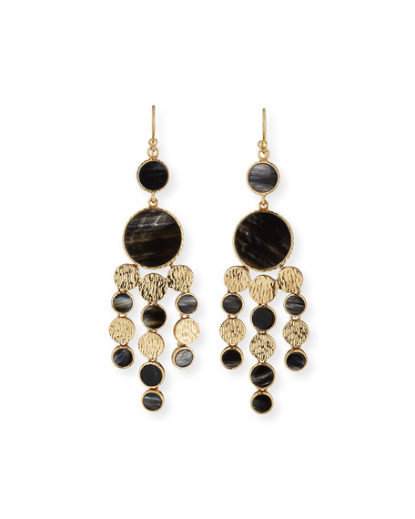 Akola Circle Chandelier Earrings