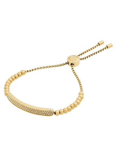 Pavé Crystal ID Bar Bracelet