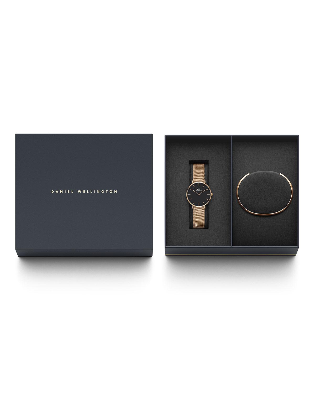 98da4adb84ff Daniel Wellington Petite Melrose Watch Gift Set