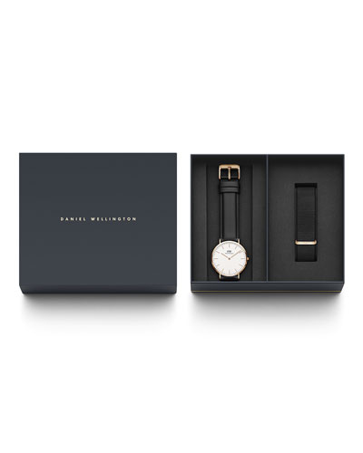 40mm Classic Sheffield Watch Gift Set
