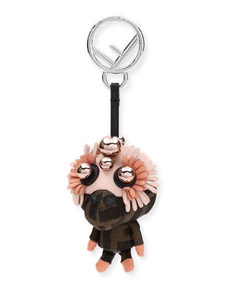 Fendi Space Monkey Napa Bag Charm
