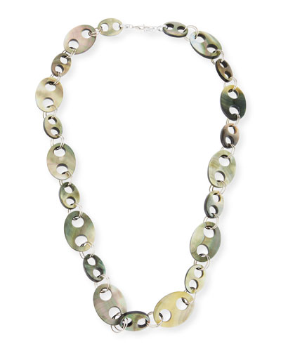 Doublet Link Statement Necklace