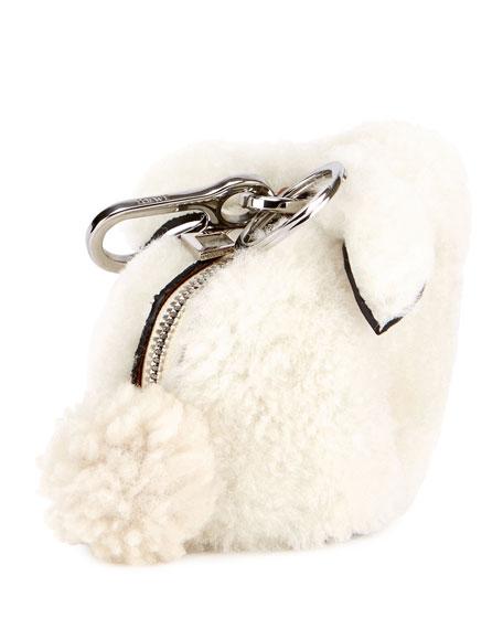 Shearling Fur Bunny Bag Charm
