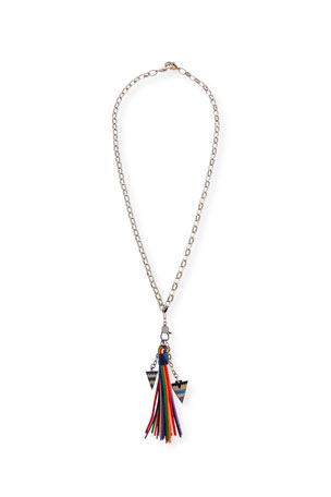 Hipchik Azalea Tassel Chain Necklace