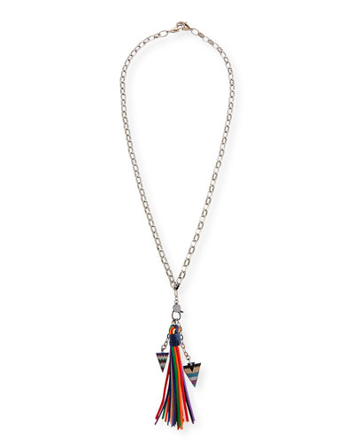 Azalea Tassel Chain Necklace